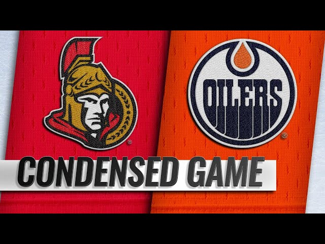 03/23/19 Condensed Game: Senators @ Oilers