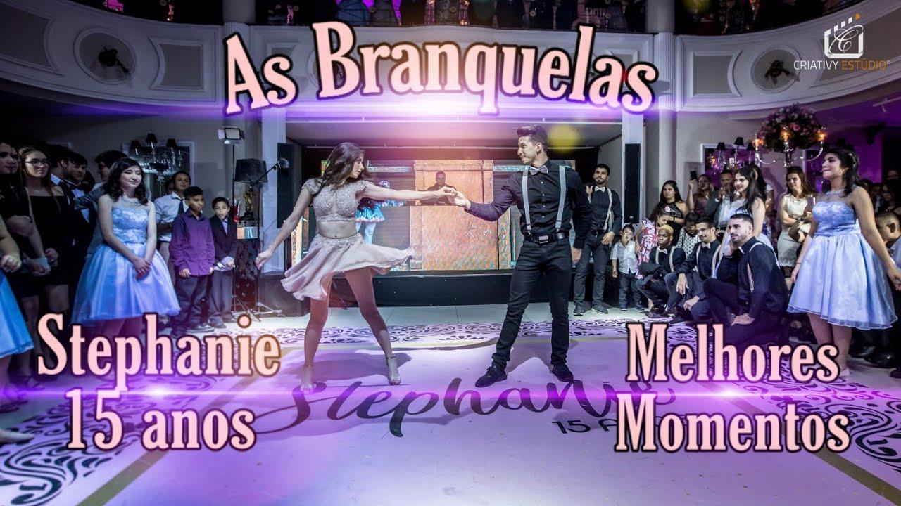 As Branquelas | Debutante Stephanie | Melhores Momentos | Abertura de Pista | TK Inovações