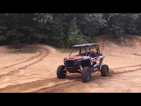 Breaking the new RZR and belt in
