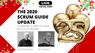 Official Scrum Guide Update 2020 - Changes & Impact LIVE Event [Recording]