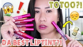vice cosmetics lip and cheek tint review