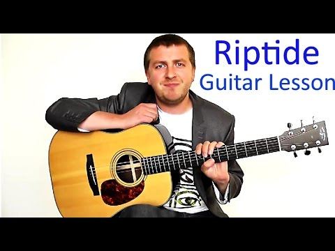 Riptide - Easy Beginners Guitar Lesson - Vance Joy - No Capo - YouTube