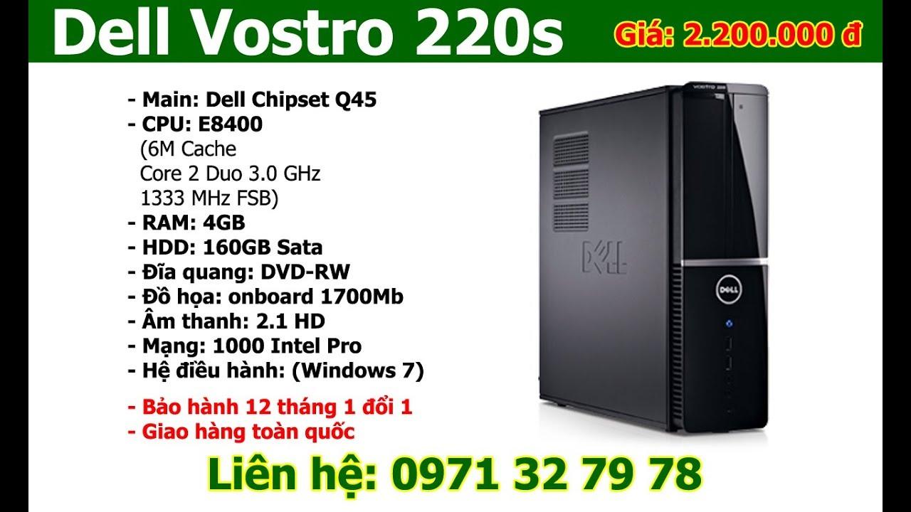Dell vostro 220s khui thùng – Bán máy tính để bàn, Laptop giá rẻ