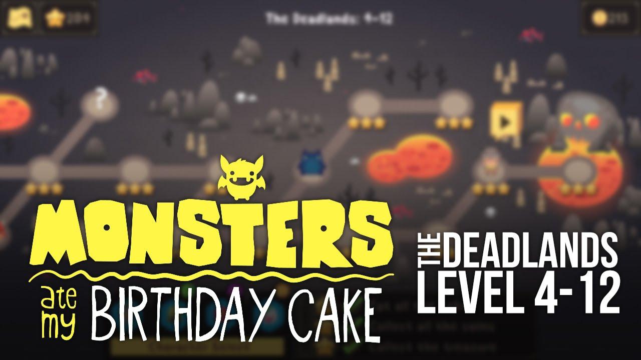 Monsters Ate My Birthday Cake Ios Level 4 12 3 Star Walkthrough