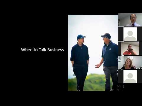 WEBINAR: Business Golf & How to Win Clients