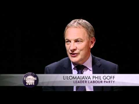 Interview with Labour Leader Phil Goff