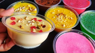 Ramadan Special | Iftar Snacks | 6 Easy Pudding Recipe