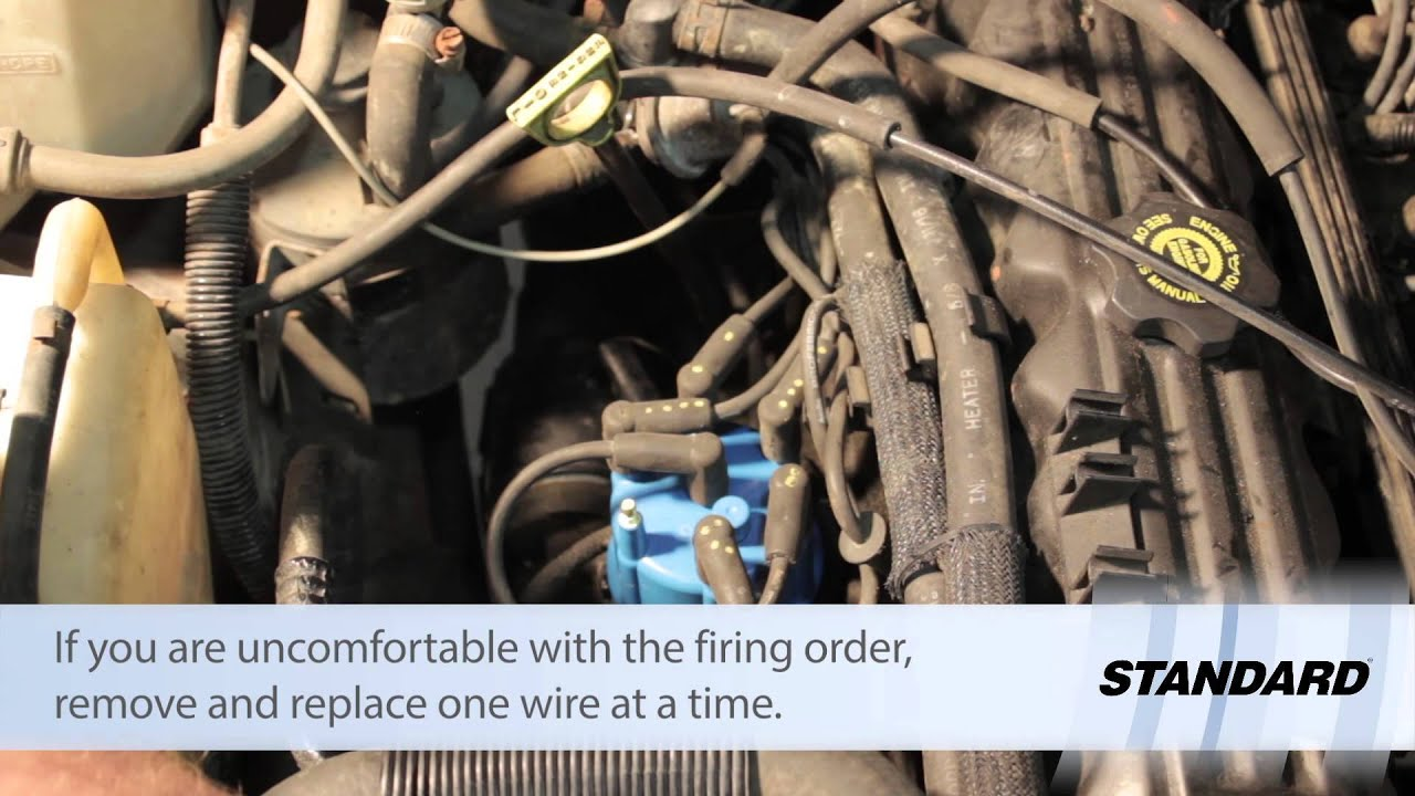 jeep cherokee spark plug wire replacement [ 1280 x 720 Pixel ]