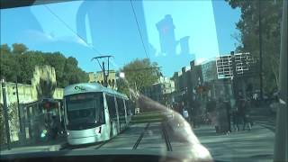 Tram Avignon,Trajet de St Roch à St Chamand