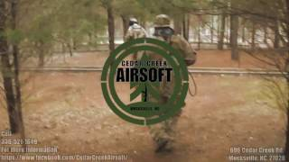 Cedar Creek Airsoft Action Video
