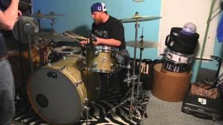 "Garrett Chappell ""Sunny and 75"" Joe Nichols Drum Cover"