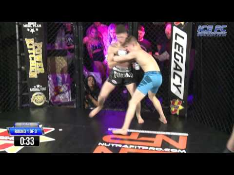 ICE FC 12 Daniel Moreland (Spennymoor MMA) VS Kai Richmond (Shogun MMA)