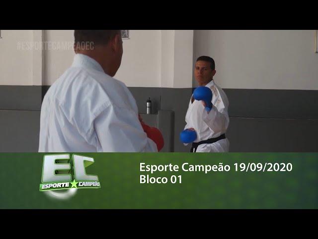 Esporte Campeão 19/09/2020 - Bloco 01