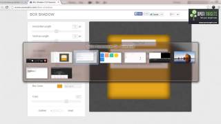 Open Targets Dreamweaver Tamil Video Tutorials | Css Border Radius Box shadow Gradiant