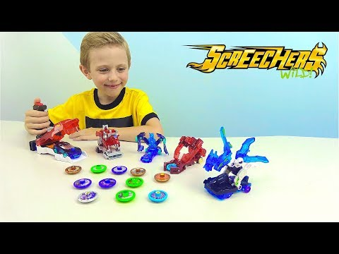 Машинки Трансформеры ДИКИЕ СКРИЧЕРЫ Screechers WILD! Новинка для Детей