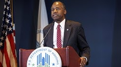 HUD Sec. Carson on white supremacists, public housing and that dining room set