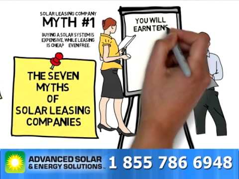 7 Myths of Solar Panel Leasing