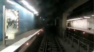 Ligne B du RER. Cabine d'un MI79 De Paris Nord à St Rémy les Chevreuses partie 1