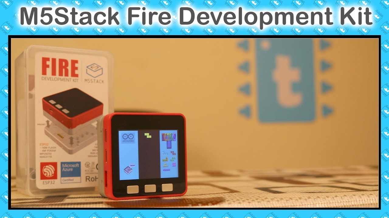 Getting started with M5Stack Fire development kit | ESP32 projects