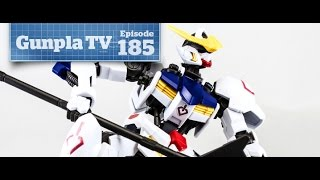 Gunpla TV - 185 - Iron Blooded Gundams and the DeLorean! - Hlj.com