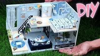 DIY Miniature Dollhouse Kit || You & Me House ( With Furniture & Light )