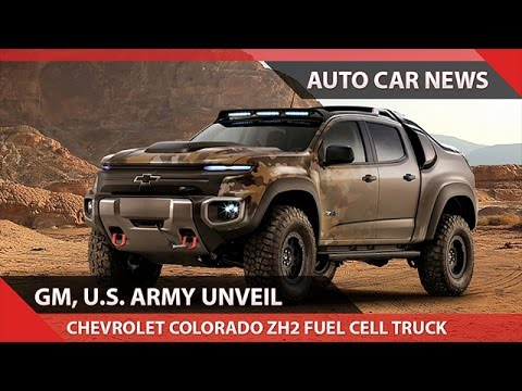 Wow Chevrolet Colorado Zh2 Fuel Cell Truck Us Army Youtube