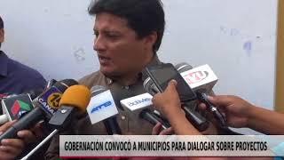 GOBERNACIÓN CONVOCO A MUNICIPIOS PARA DIALOGAR SOBRE PROYECOTOS