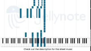 Video Angie - The Rolling Stones [Piano Sheet Music] download MP3, 3GP, MP4, WEBM, AVI, FLV Mei 2018