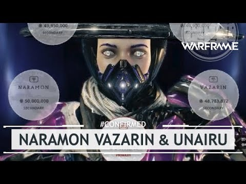 Warframe: NEW Naramon, Vazarin, & Unairu Focus Trees REVEALED! [#confirmed]