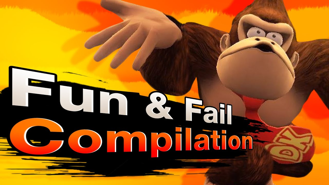 Smash 4 Wii U - Fun & Fail Compilation
