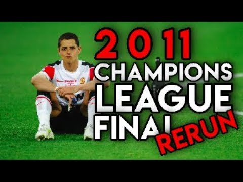 Replaying The 2011 Champions League Final On Pro Evolution Soccer (PES)