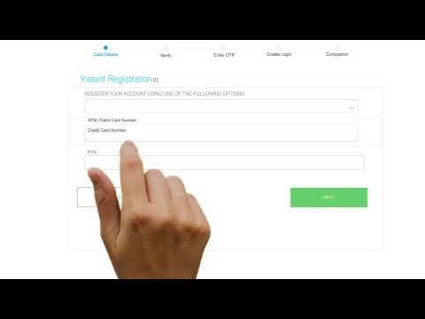 SG Online Banking - Instant Registration