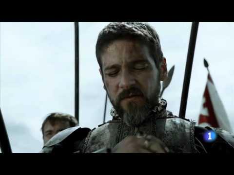 Philipp II of Spain planning the Battle of San Quintin 1557