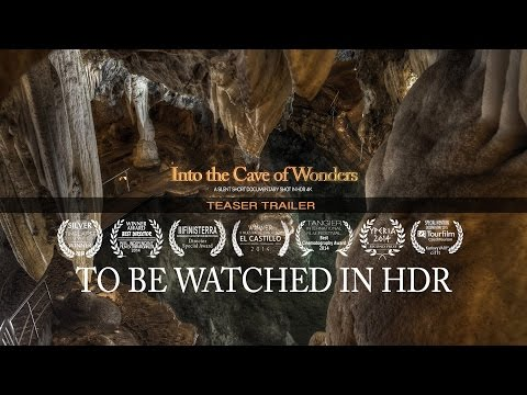Into the Cave of Wonders [Teaser - Shot in Real HDR Smpte 2084]