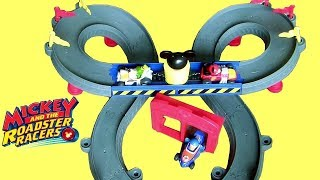 Mickey Ears Super Raceway Playset from Disney Mickey and the Roadsters Racers