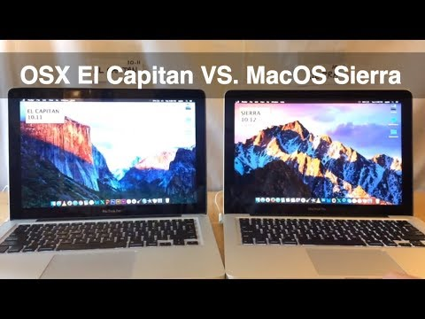 OSX El Capitan VS. MacOS Sierra - Macbook Pro MacOS Speed Test - 10.11 Vs 10.12