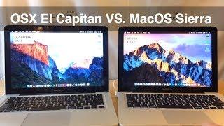 OSX El Capitan VS. MacOS Sierra - Macbook Pro macOS Speed Test - 10.11 vs 10.12
