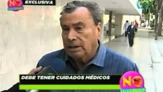 No lo cuentes. Alfonso Zayas fuera de peligro tras problema en riñones