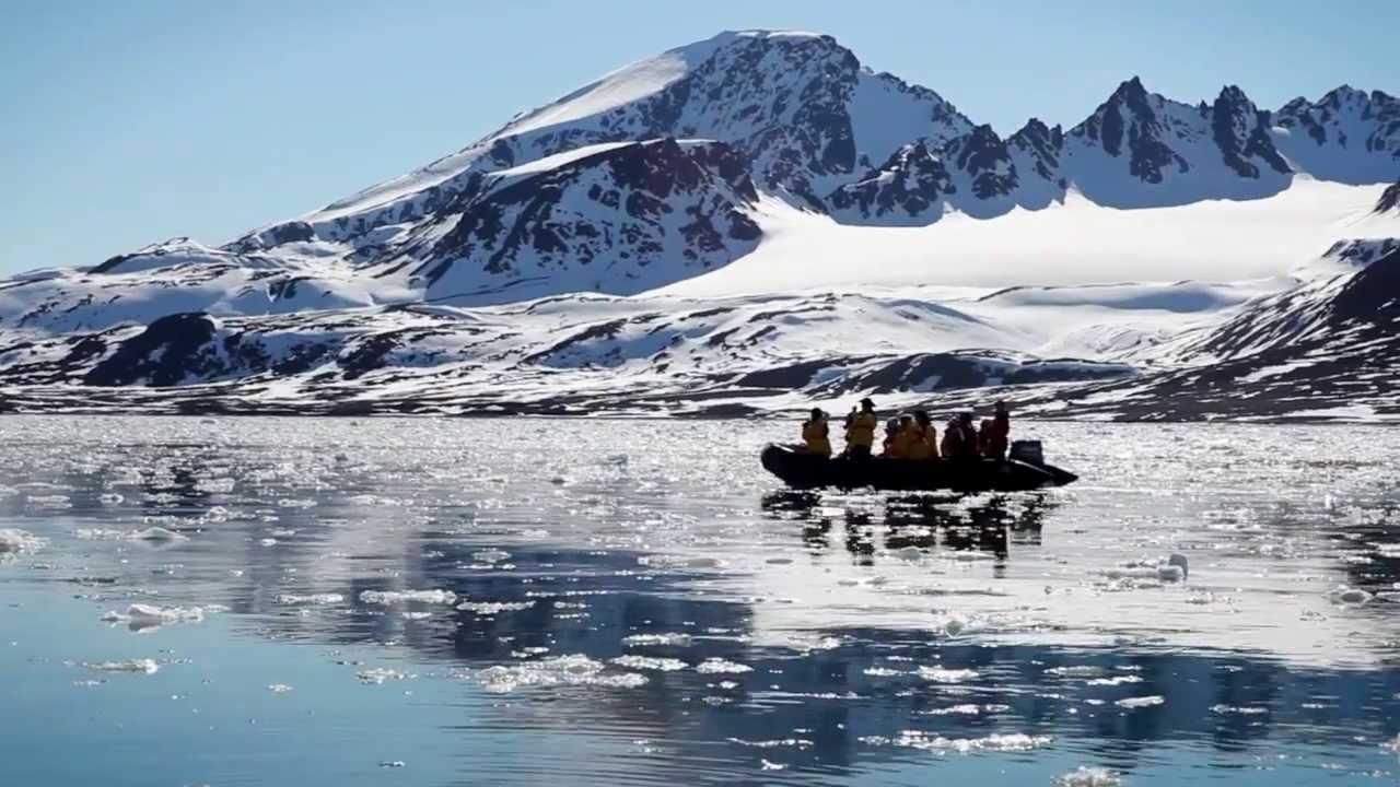 【動画】北極クルーズ ある日の一日