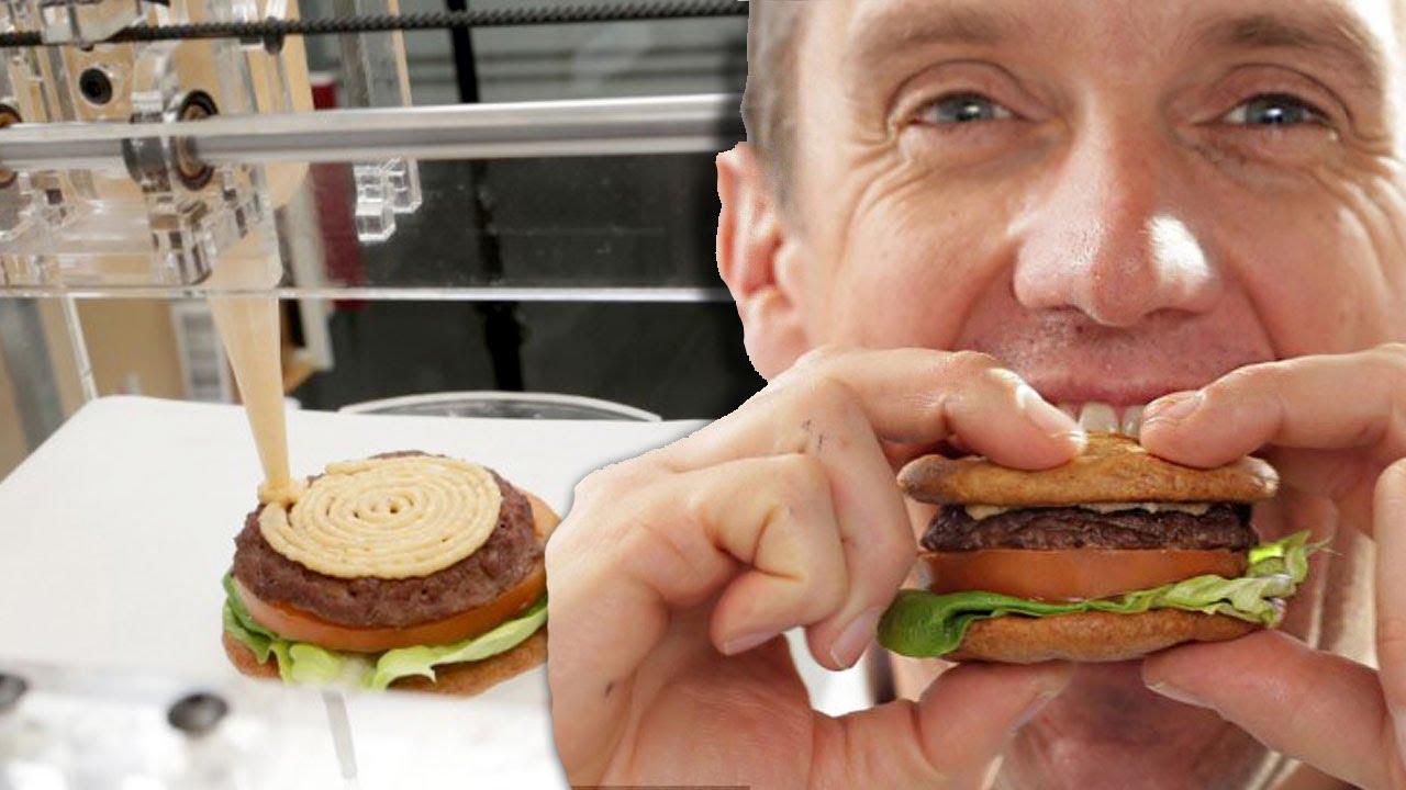 3d printing food chef