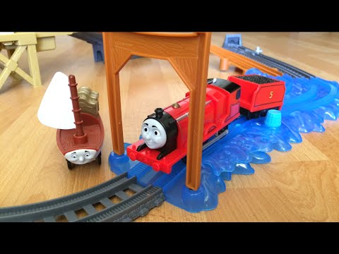 trackmaster treasure chase set instructions