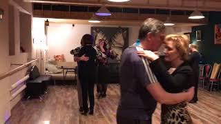 «Дом Танго» занятие 30 ноября 2017г: танцуем под Hugo Diaz (начинающие - Анна)