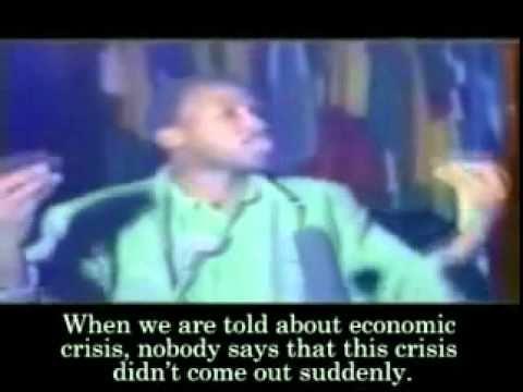 Burkina Faso President Thomas Sankara's 'Against debt' speech 1987 Part 1