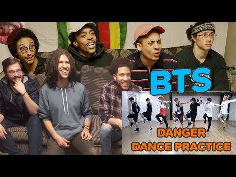 bts-(방탄소년단)-'danger'-dance-practice-|-reaction