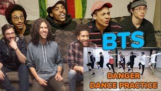 BTS (방탄소년단) 'Danger' dance practice | REACTION