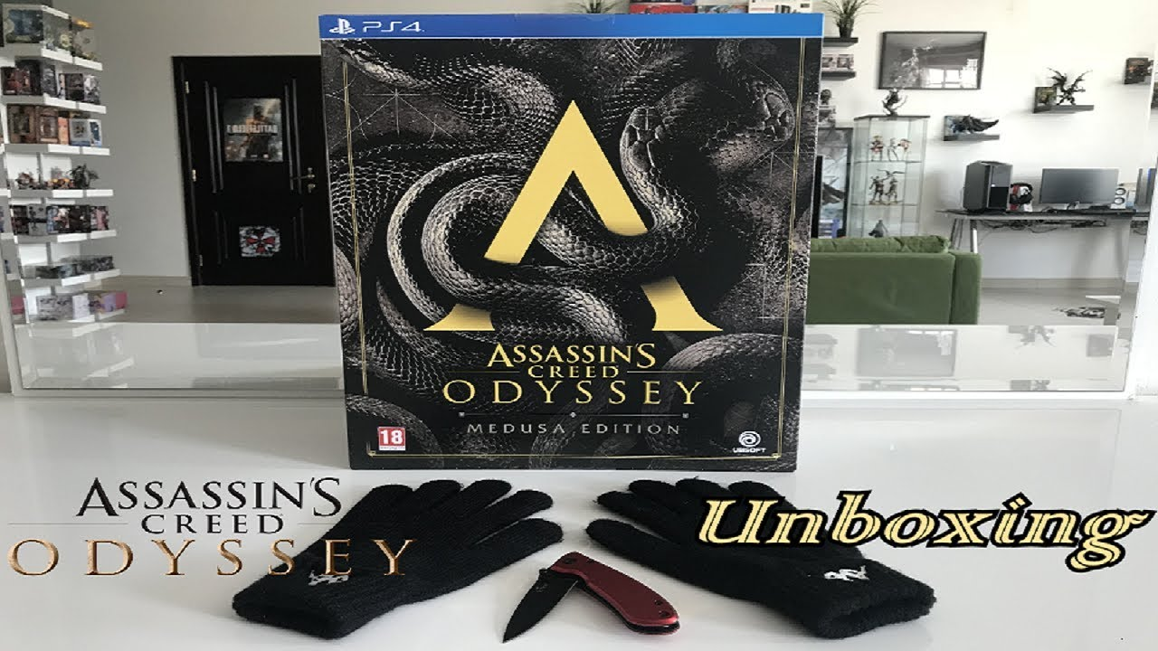 Unboxing Assassin S Creed Odyssey Medusa Edition Collector S