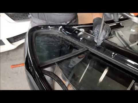 VW Volkswagen Jetta Door Glass Removal Process