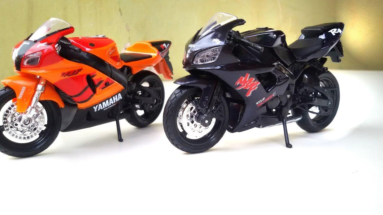 moto de brinquedo yamaha parecida com ninja rr 1100 kawasaki esportiva youtube. Black Bedroom Furniture Sets. Home Design Ideas