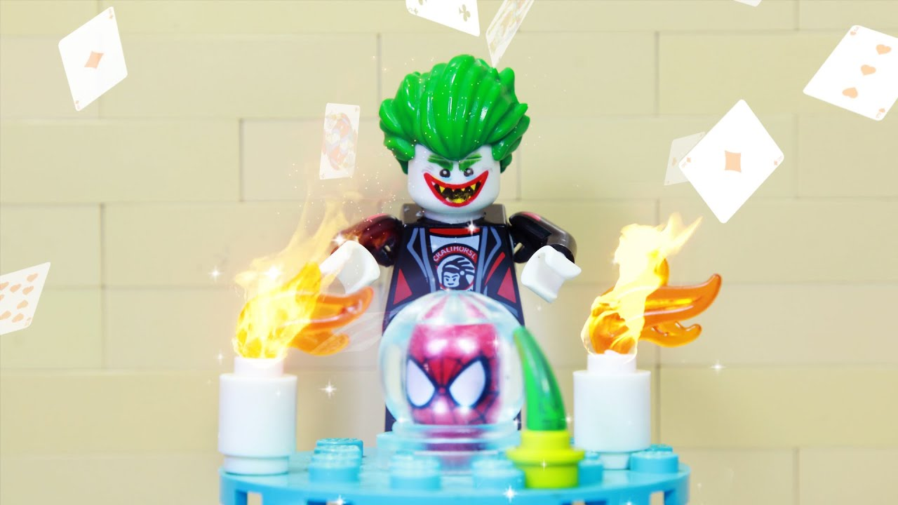 Download Lego Superhero Spiderman Vs Joker Robbery Magic Ball