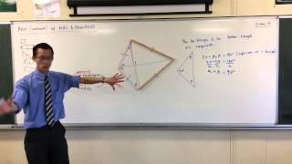 Areas of Kites & Rhombuses (2 of 2: Deriving the Formula)